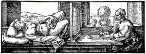 Albrecht Dürer - Perspektive 01