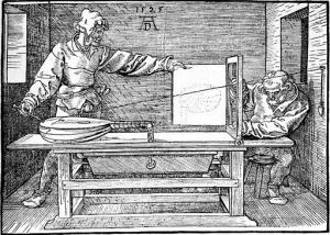 Albrecht Dürer - Perspektive 2