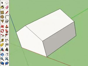 sketchup einfaches haus