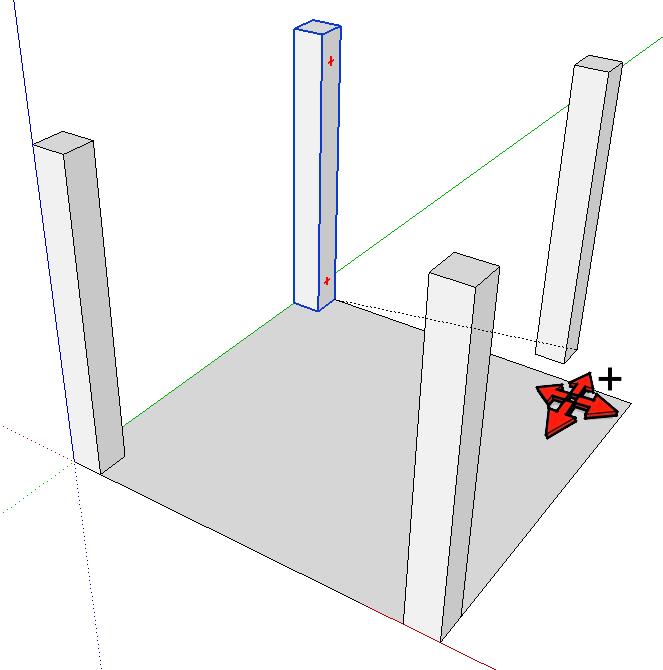 Grundrisse Zeichnen Sketchup : Dieses romanische Kreuzgratgewölbe wollen wir erstellen!