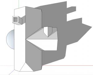 sketchup perspektive draufsicht 1