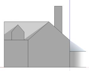 sketchup perspektive rückansicht 1