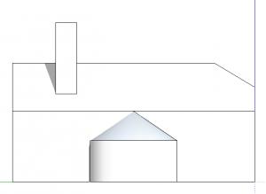 sketchup perspektive seitenansicht links 2