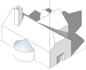 sketchup perspektive parallele projektion 01