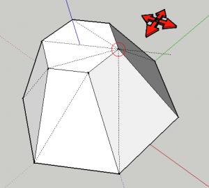 sketchup polygon 02