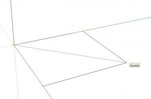 sketchup rechteck quadrat