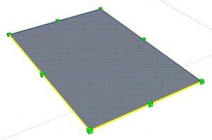 sketchup rechteck skalieren