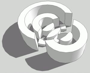Sketchup Experiment Kreis 05