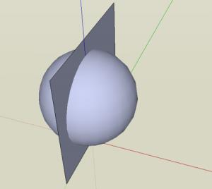 Sketchup Kugel 03