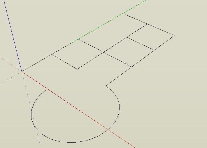 Grundrisse Zeichnen Sketchup : 123 Sketchup! » Mauern…  Modellieren in 3D