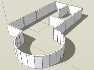 Sketchup Mauern Walls Plugin 05