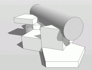 Sketchup Operation Durchdringung 04