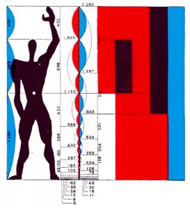 Sketchup Corbusier Modulor 1