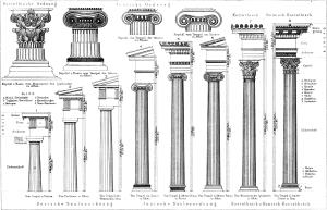 Sketchup Ordnung Säulenordnung 11