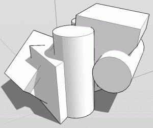 Sketchup Experiment Formenpaare 06b