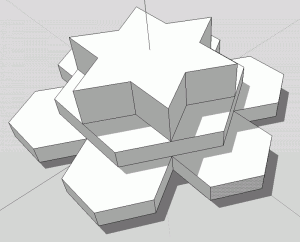 SketchUp Experiment Polygon 01