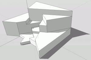 Sketchup Experiment Polygon 02