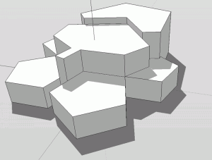 Sketchup Experiment Polygon 03