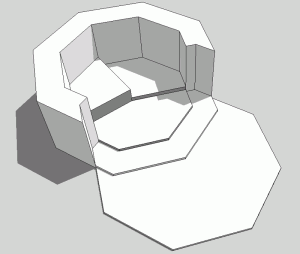 Sketchup Experiment Polygon 04