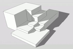 Sketchup Experiment Rechteck 01
