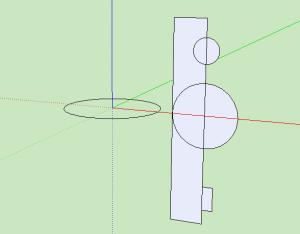 Sketchup Rotationskörper 01