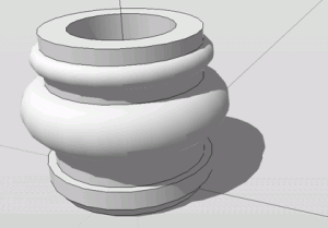 Sketchup Rotationskörper 02
