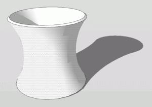 Sketchup Rotationskörper 04