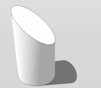 fläche eines zylinders