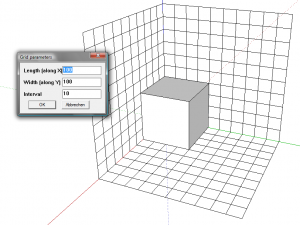 Sketchup Plugin Cubic-Colored-Grid