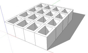 Sketchup Plugin Lattice Maker