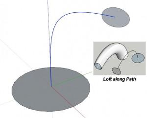 curviloft - loft along path 01