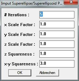Fun Shapes - Superellipsoid 01